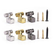2Pcs Roller String Retainers Mounting Tree Guide for Electric Guitar gold F&F