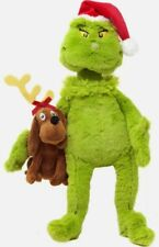 Dr. Seuss The Grinch with Max Exclusive Plush New