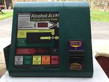 VINTAGE Kero Alcohol Alert Breathalyzer accepts Dollar Bills & Coins #2