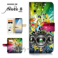 ( For Samsung S10 ) Wallet Flip Case Cover P21302 Music Box