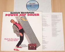 Gottlieb changeant-power sur durée (teldec 1988 + OIS/LP vg + +/M -)