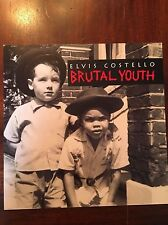 Elvis Costello Brutal Youth promo poster (flat)