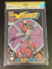 X - Force 2 CGC SS 9.8 Deadpool Second appearance Signed Liefeld Movie Soon