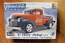REVELL '41 CHEVY PICKUP TRUCK 2'n1 MODEL KIT 1/25 SCALE