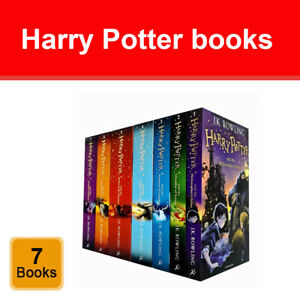 Harry Potter Series 1 - 7 Books Collection Set by J. K. Rowling Children's Pack