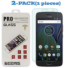 Tempered Glass Screen Protector Guard Shield Cover For Motorola Moto G5 Plus