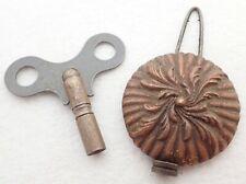 Antique Mantel Shelf Clock Pendulum + Key Parts Repair