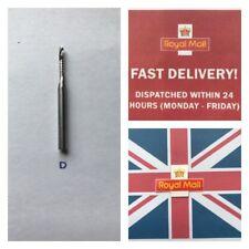 Carbide Milling Cutter CNC  2.5mm Dia 12mm Flute 3.2mm shank UK stock freepost