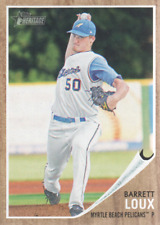 2011 Topps Heritage Minors Baseball #160 Barret Loux