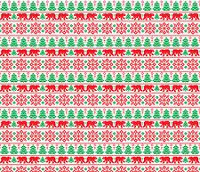 Bear Christmas Sweater Htv Heat Transfer Printed Vinyl Sheet Ugly Pattern Design