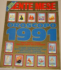 GENTE MESE=1991/1=OROSCOPO=ALIGI SASSU=GINA LOLLOBRIGIDA KARL LAGERFIELD=