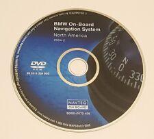 2004 2005 2006 BMW NAVIGATION DVD MAP FOR 3-SERIES 5-SERIES 7-SERIES M3 X3 X5 Z4