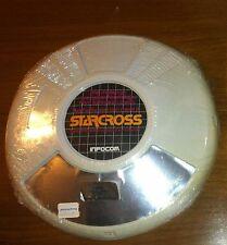 SEALED Starcross Infocom IBM 48K disk saucer folio version vintage frisbee