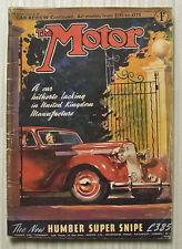 The MOTOR Magazine 31 Jan 1938 Vauxhall 14 & 4 Litre Darracq Road Tested