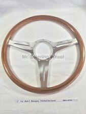 Moto-Lita Mark 9 Wood Steering Wheel - Size Spoke Style Options Available
