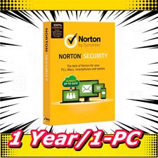Norton Internet Security 2019 Antivirus Premium 1 Year / 1 PC E-delivery