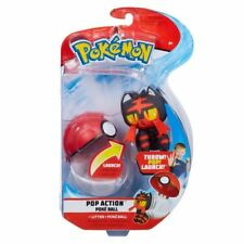 Pokemon ~ Pop Action Poke Ball ~ Litten & Poke Ball Character