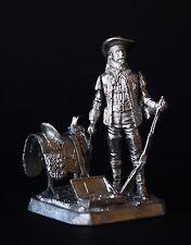 "WILLIAM F. CODY "" BUFFALO BILL"" KIT Tin toy soldier 54 mm. metal"