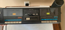 TECHNICS Dolby STEREO DOUBLE CASSETTE TAPE DECK (Tested) RS-D550W