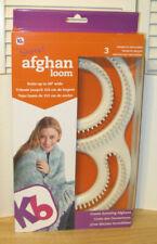 "Kb Super Afghan Loom Knitting Board kit ~ 11"" x 19"" ~ Kb8000 ~ Nip"