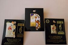 Vintage 1996 Atlanta Olympic Games Basketball Events cut-out style pin set