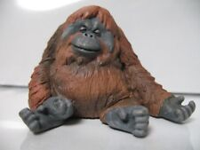 Japan Zoozoo Sleeping Orangutan Ape PVC mini figurine