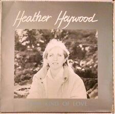 HEATHER HEYWOOD Some Kind of Love LP Celtic Folk Uilleann Pipes UK Greentax 010