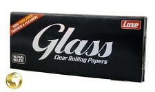 1 x Päckchen GLASS™ King Size Clear Rolling Paper / Cellulose/100% Natural/BIO