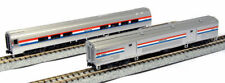 KATO 1066292 N Scale Amtrak Phase III 2-Car Passenger Baggage Car Set B 106-6292