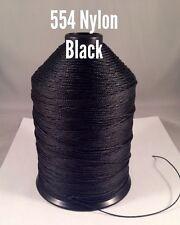 Bonded Nylon Thread 554 Black 16oz spool