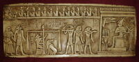 Ancient Egyptian Anubis Judgement Day Wall Sculpture