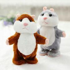 Talking Hamster Talking Movable Interactive Animals Kid Stuffed Toys Educational
