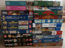 1000 piece Jigsaw Puzzles Ravensburger Gibsons Falcon CHRISTMAS - MULTI LISTING