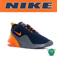 Nike Men's Size 8 Air Max Motion 2 Running Shoe Blue/Total Orange CK0002-400
