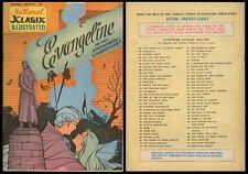 Philippine National Classic Illustrated Komiks EVANGELINE Comics