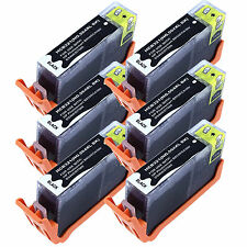 6 x 564XL New Black Ink for HP 564XL Deskjet 3070a 3520 3521 3522 3526 with Chip