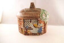 Vintage Ceramic Cottage House Box Figurine Radford England Handpainted