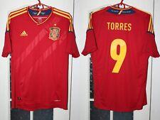 Spain España Euro 2012 2013 Torres Champions Adidas Shirt Jersey Camiseta