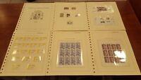Año completo sellos de España 1996 pruebas MP Rey etiquetas A1