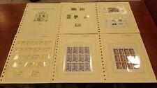 Año completo sellos de España 1996 pruebas MP Rey etiquetas
