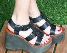 Chie Mihara Women's Gameover Dress Sandal,Masai Black/Kansai Mili,37 EU/7 M US