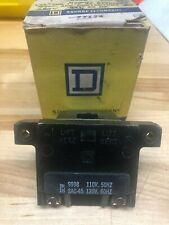 Square D 9998-SAC-45 Contactor Starter Relay Coil 110/120V 50/60Hz