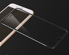3D FULL COVER iPhone 8 Schutzglas Panzer Glass Metall Rand TEMPERED GLAS schwarz