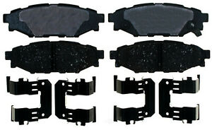 Disc Brake Pad Set-Ceramic Disc Brake Pad Rear ACDelco Pro Brakes 17D1114CH