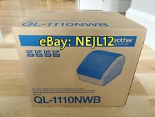 "Brother QL-1110NWB Thermal Wireless Bluetooth 4"" Desktop Shipping Label Printer"
