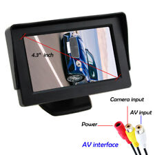 4.3 Inch LCD HD Screen Rear View Monitor for Car Backup Reverse Parking Camera