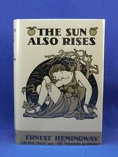 THE SUN ALSO RISES by Ernest Hemingway, 1926, First 1st Edition, 2nd Print