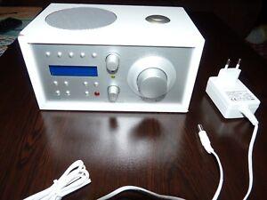 Tivoli Model DAB radio AM/FM Digital radio -High Quality DAB Radio (White)