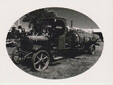 """The Old Logging Truck""   ...Classic- {Postcard}  (V-1)"