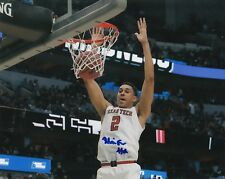 ZHAIRE SMITH signed (TEXAS TECH RED RAIDERS) Basketball 8X10 *PROOF* W/COA #2